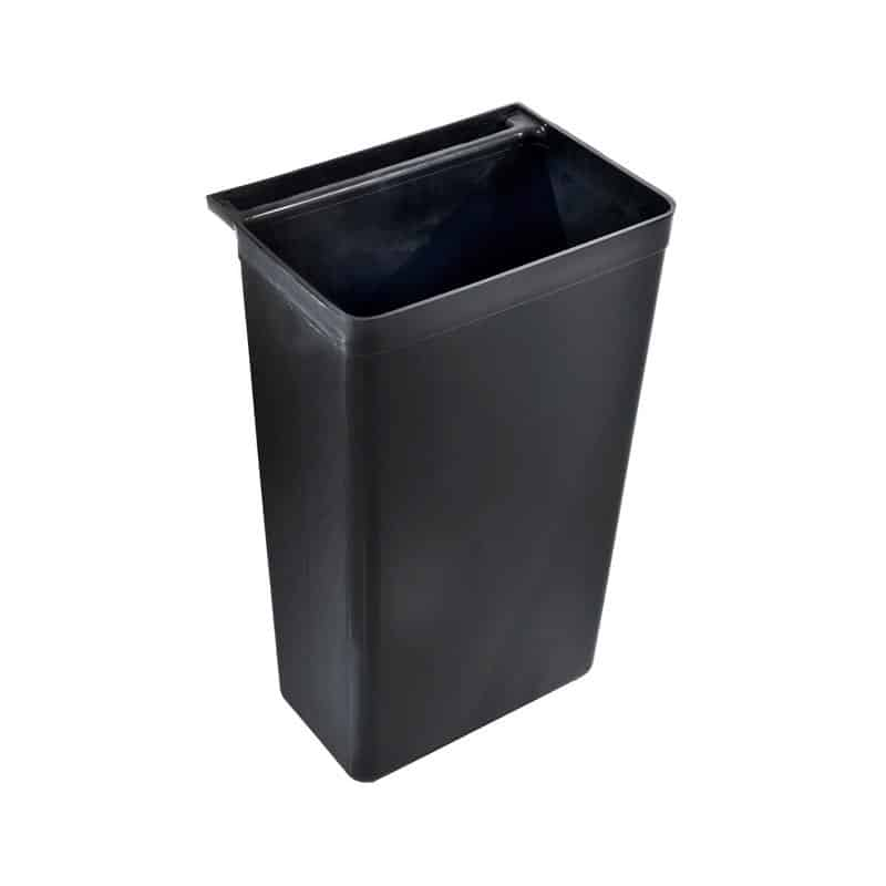 Refuse Bin For Trolley Black