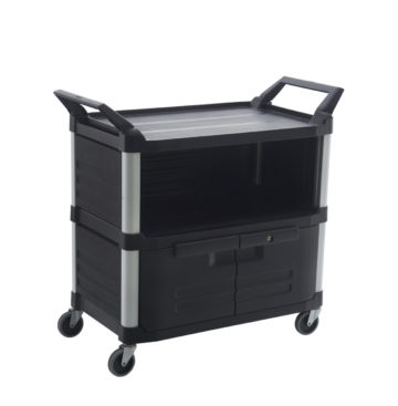 Enclosed Utility Service Cart