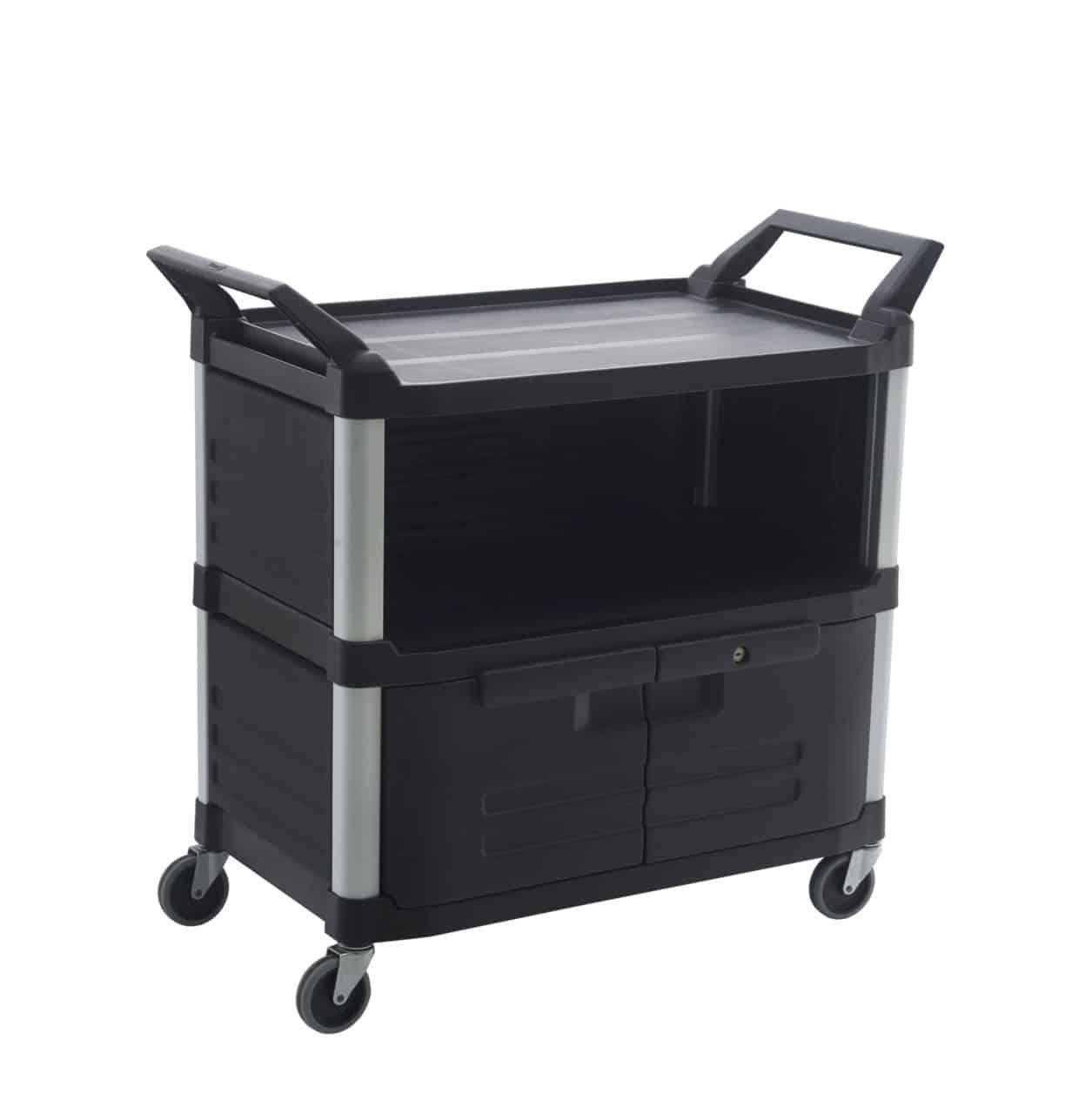 Enclosed Utility Service Cart