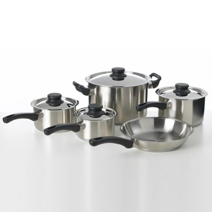 Stainless Steel Saucepan Set