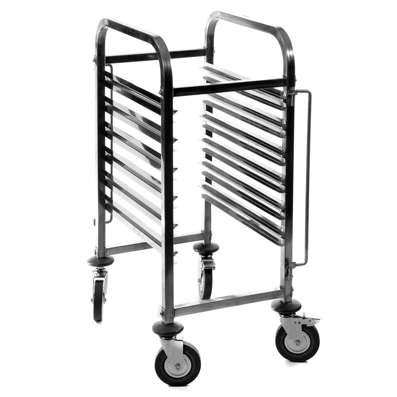KH Gastronorm Stainless Steel Pan Carrier Single 6 Tier