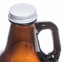 Sheffield® 64oz Amber Growler with Cap
