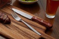 KH Hard Wood Jumbo Steak Knife