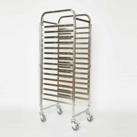 KH Bakers Trolley Stainless Steel