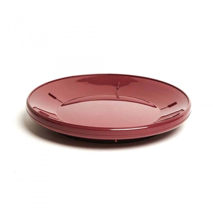 Traditional Plate Base Burgundy