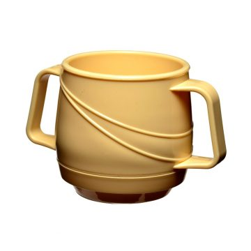KH Moderne Insulated Double Handle Mug Yellow