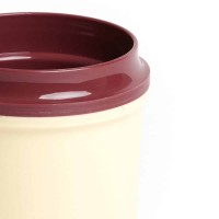 KH Traditional Insulated Mug Double Handle Yellow