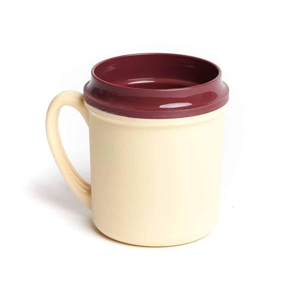 Traditional Insulated Single Handle Mug Yellow