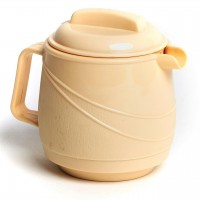 Moderne Insulated Beverage Pourer Yellow With Lid