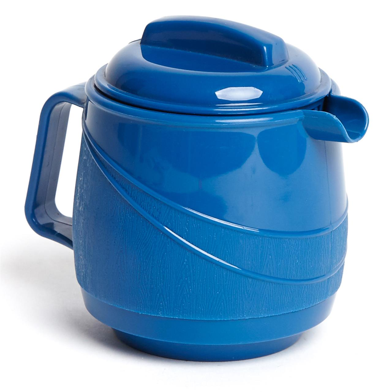 Moderne Insulated Beverage Pourer Blue With Lid