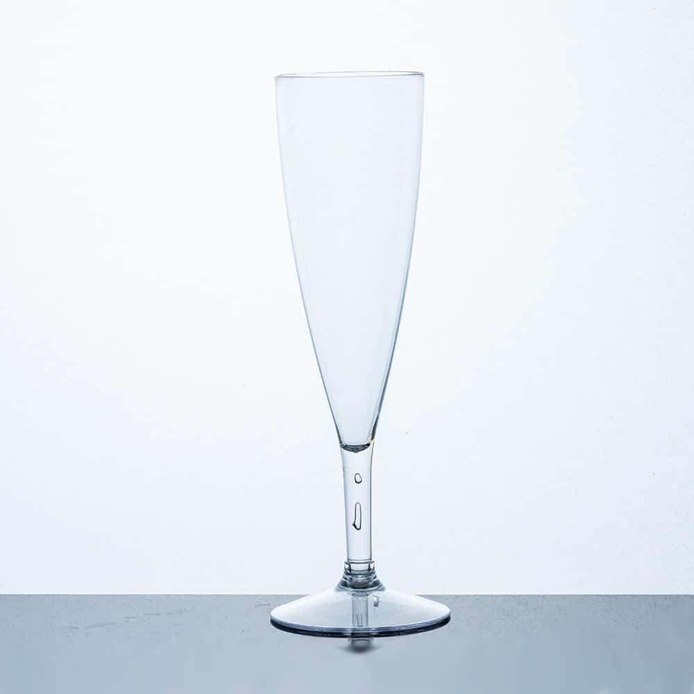 Plastic Champagne Flute 170mL