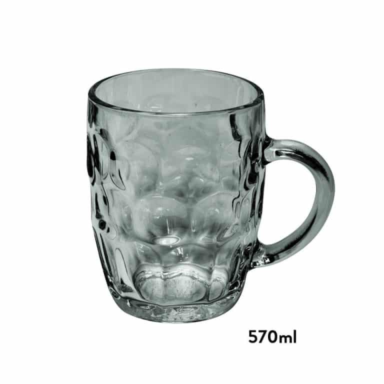 Sheffield® Dimple Beer Mug Glass
