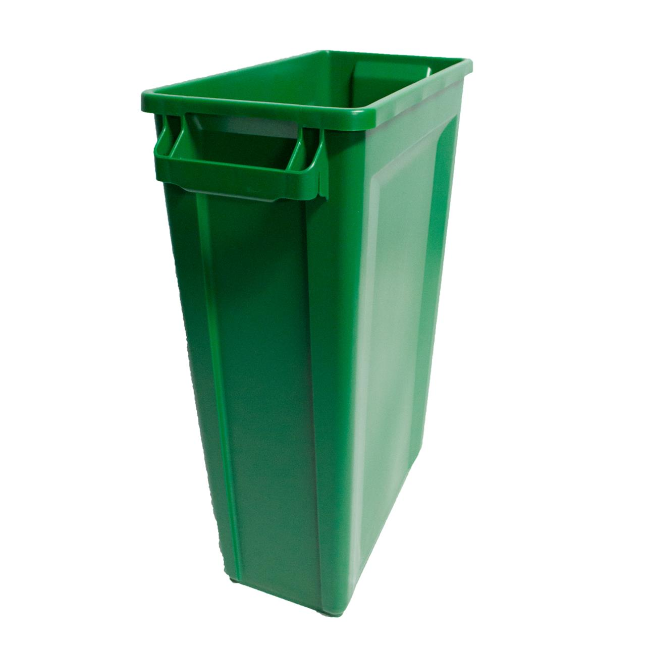 TRUST Commercial Slim Bin Green