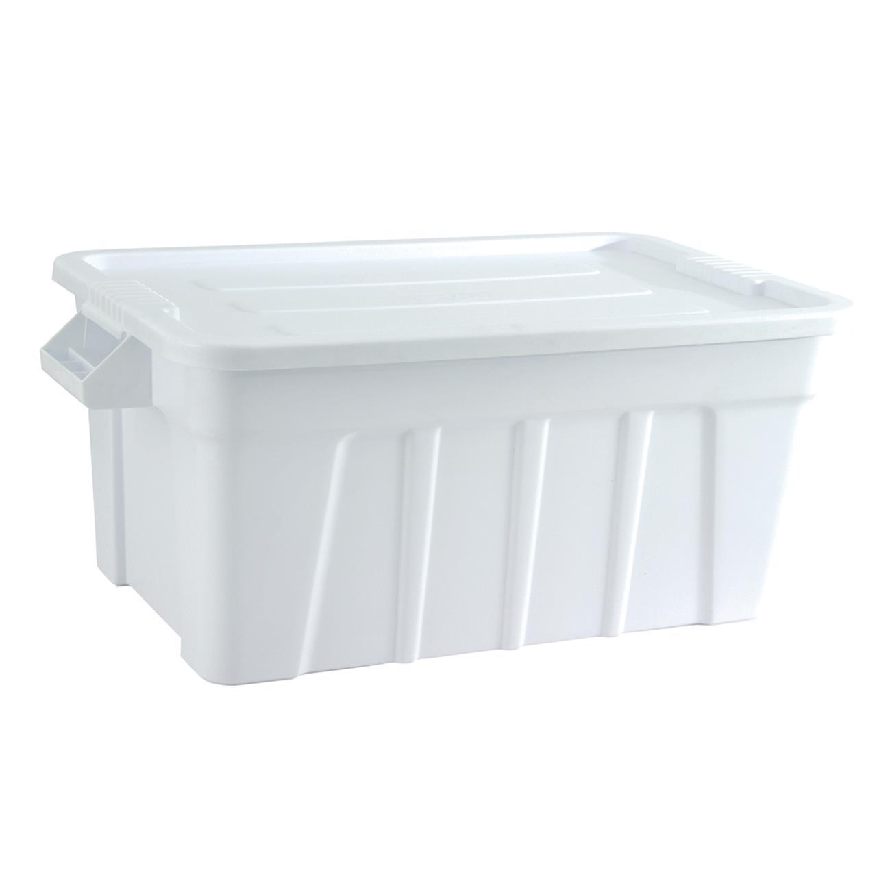 TRUST Tote Box White