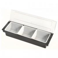 KH Bar Condiment Dispenser 3 Compartment
