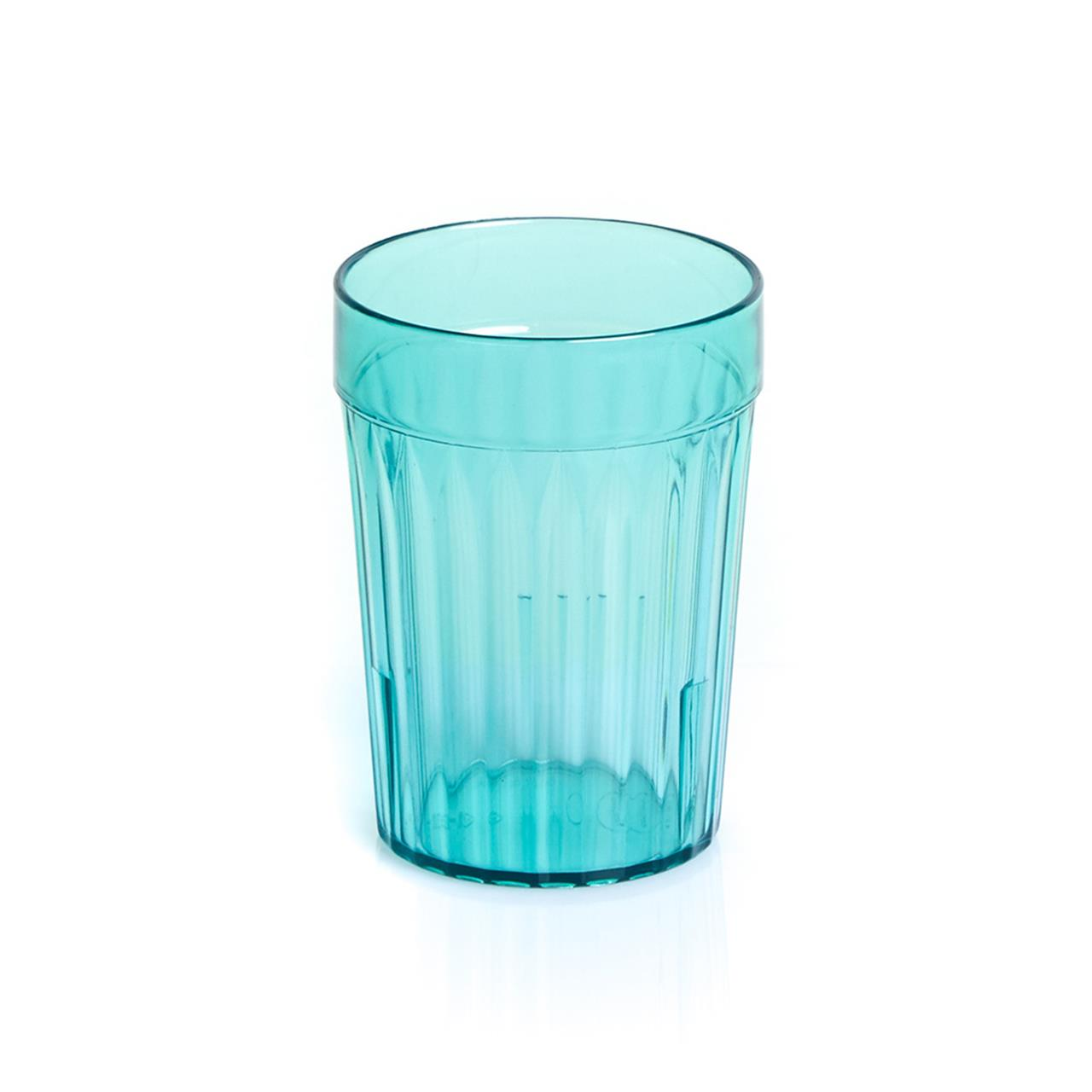 Green Re-Usable Plastic Tumblers