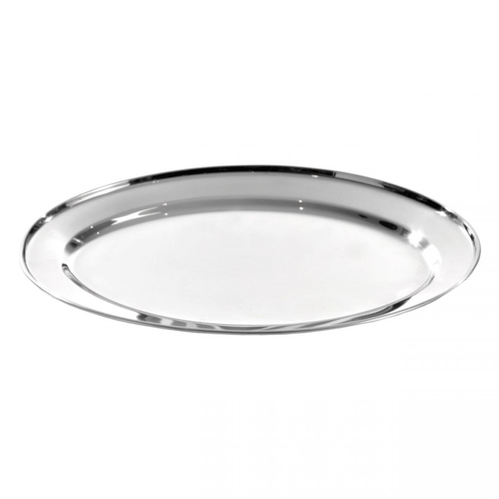 KH Oval Platter Stainless Steel