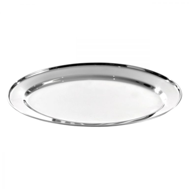 KH Oval Platter Stainless Steel