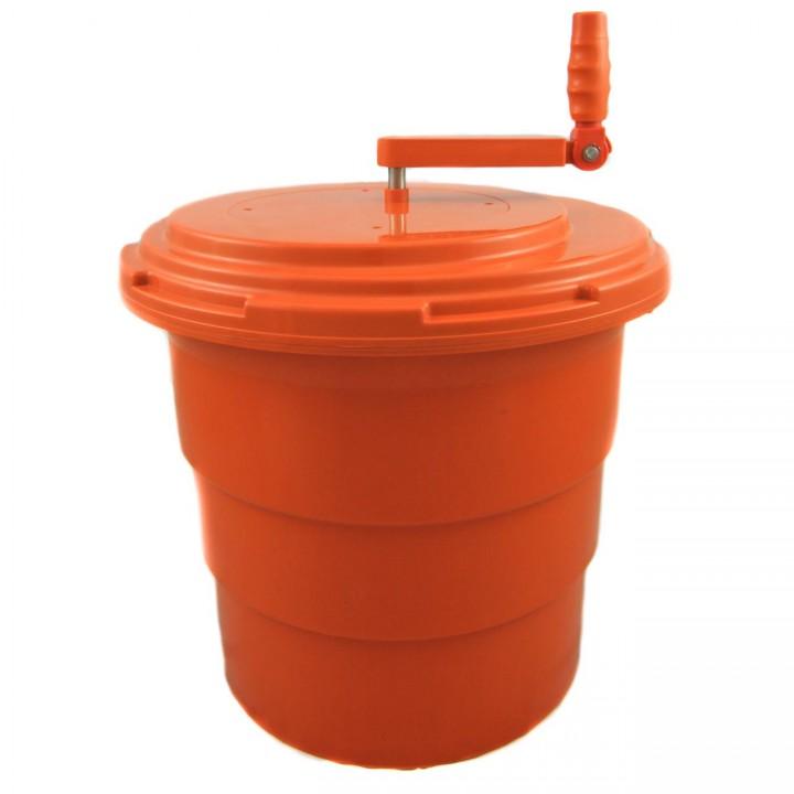 KH Orange Salad Spinner Non-Skid 20Lt