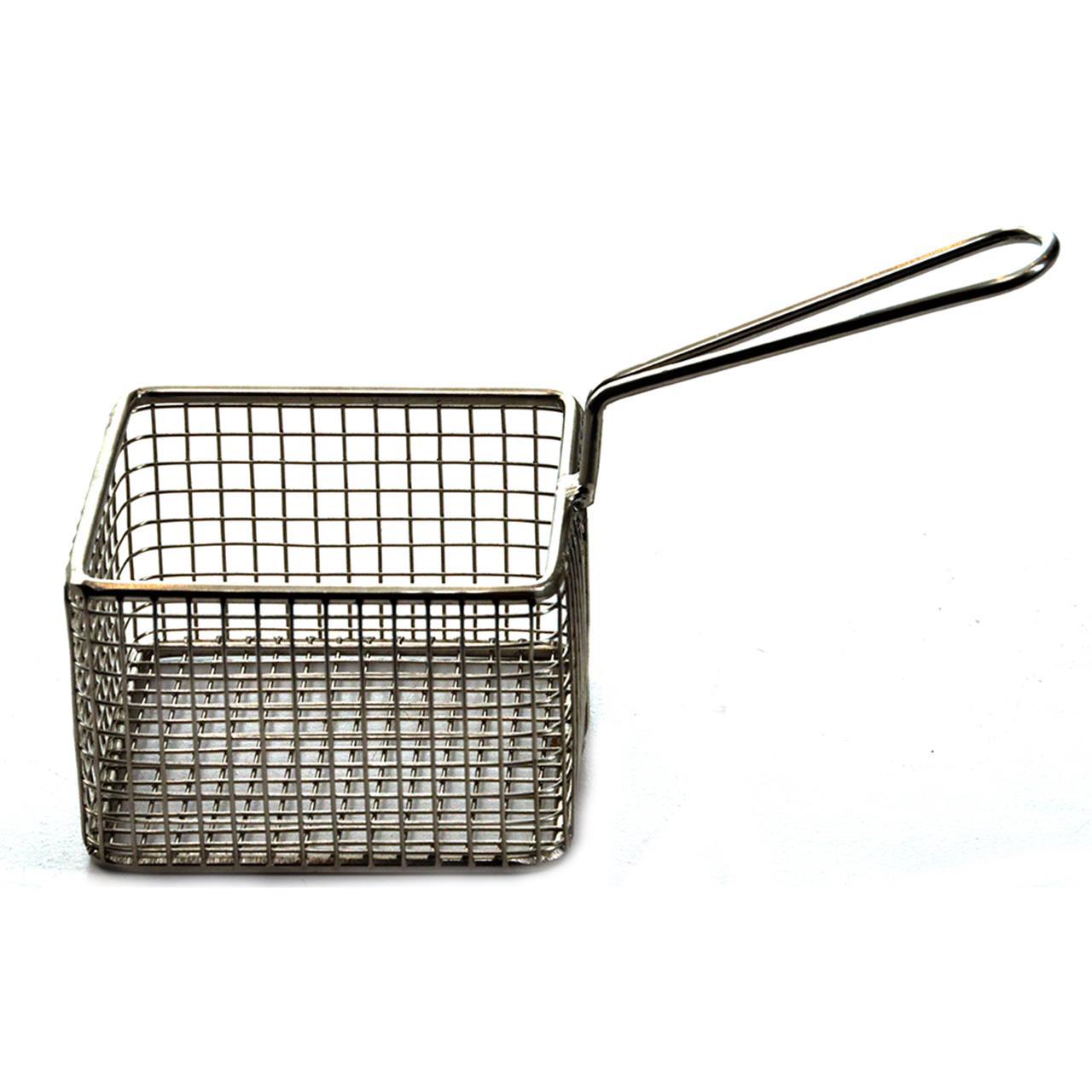 Serving Fry Basket Square