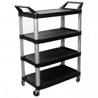 Commercial 4 Tier Large Utility Service Cart