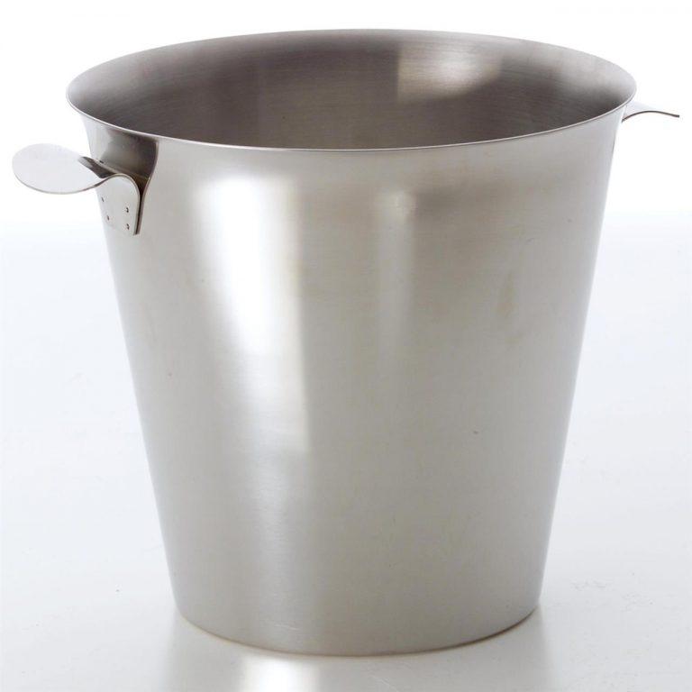 KH Wine Bucket Lug Handle Stainless Steel