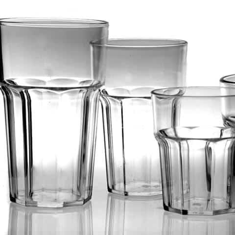Plastic Drinkware & Stemware