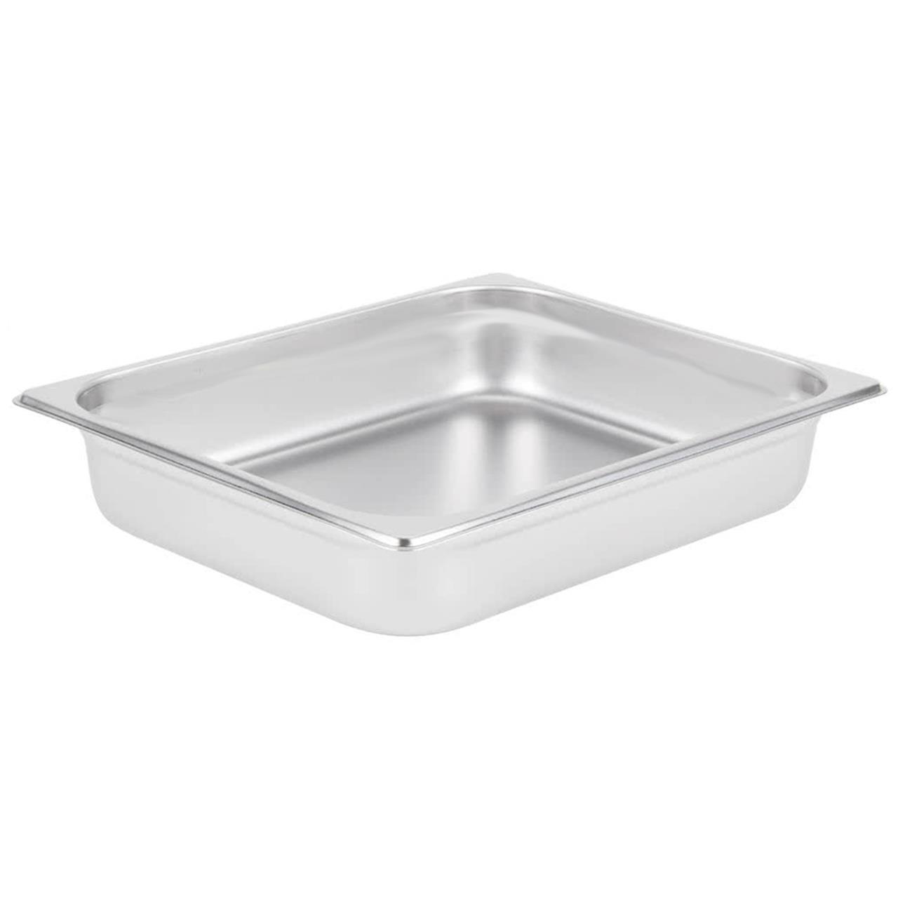 1/2 Stainless Steel Steam Pan