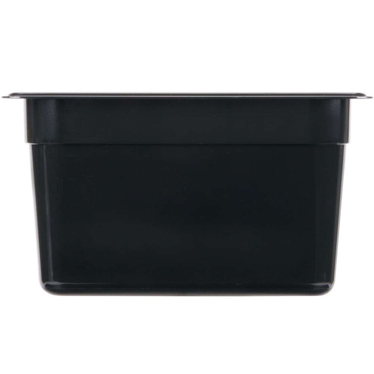 Polycarbonate-Steam-Pan-Black-Yamzar
