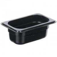 1/9 - Polycarbonate Steam Pan Black