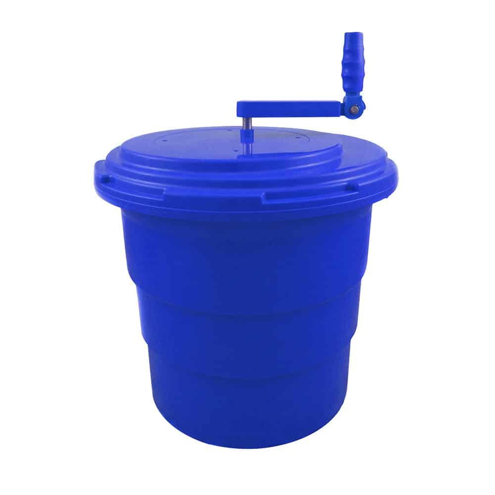 KH Blue Salad Spinner Non-Skid 20Lt