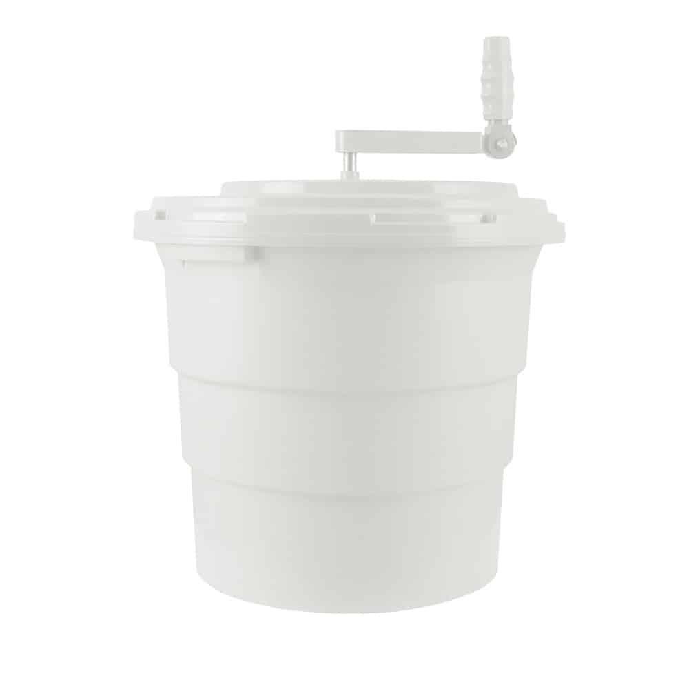 KH White Salad Spinner Non-Skid 20Lt