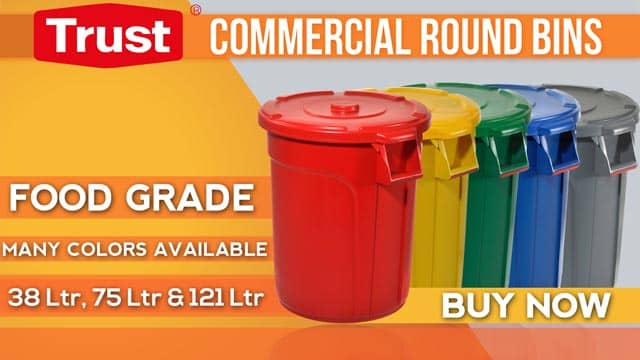 Commercial Round Bins