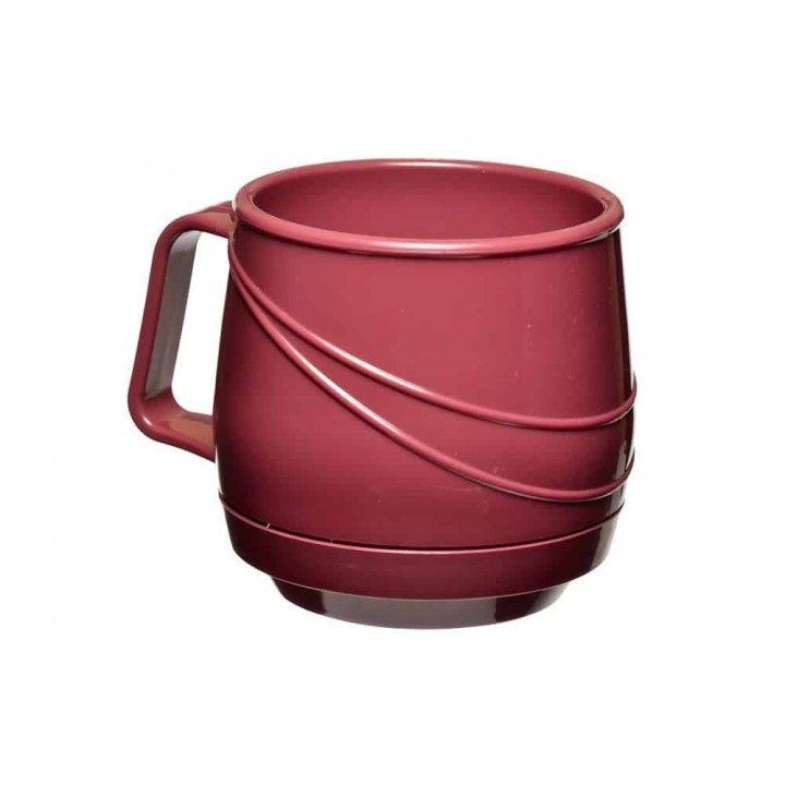 KH Moderne Insulated Single Handle Mug Burgundy