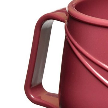 KH Moderne Insulated Double Handle Mug Burgundy