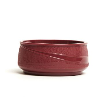 KH Moderne Insulated Soup Bowl Burgundy