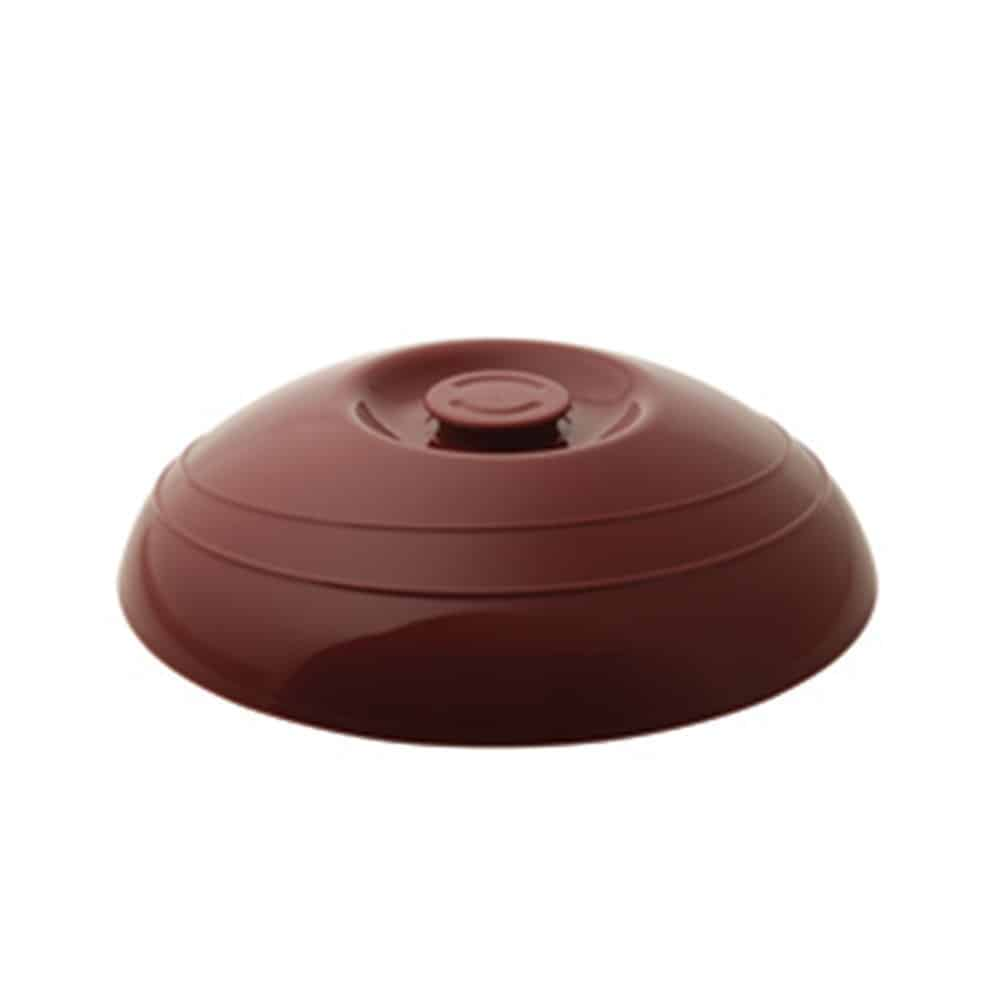 KH Moderne Plate Cover Insulated Burgundy