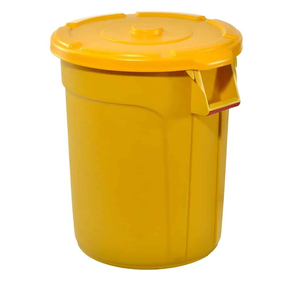 TRUST Thor Round Bin Yellow