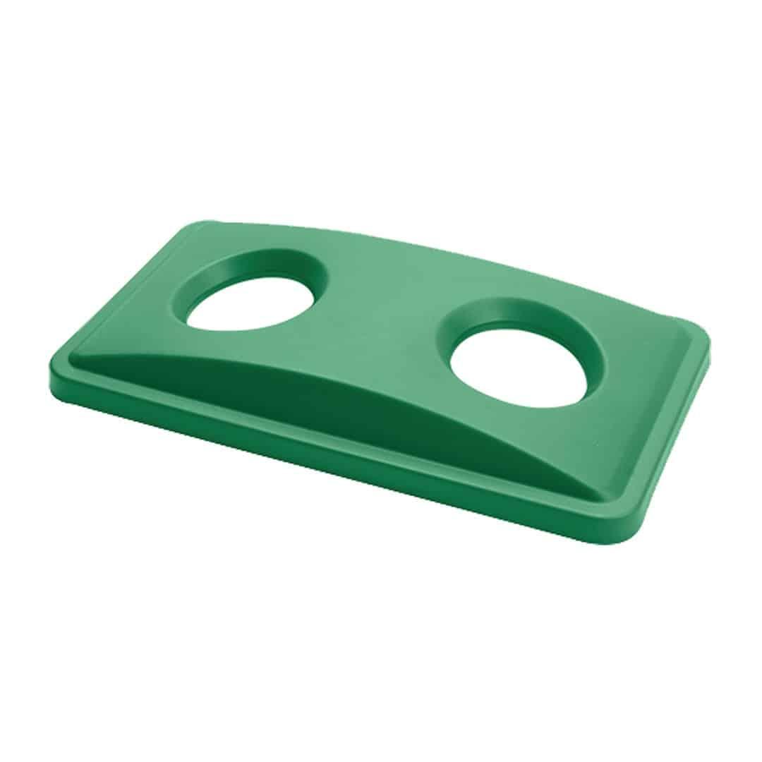 Green Lid Slim Bin