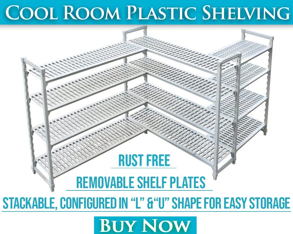Coolroom Plastic Shelving