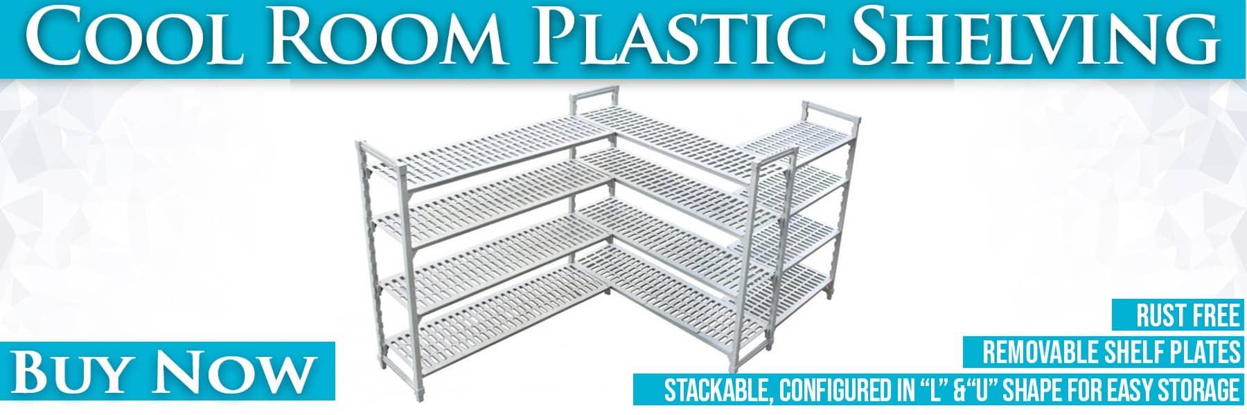 Plastic Shelving