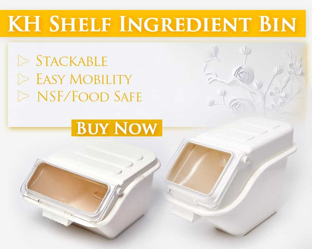 KH Shelf Ingredient Bin