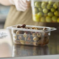 KH 1/9 Size Clear Food Pan Polycarbonate PC