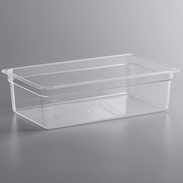 KH 1/1 Full Size Clear Food Pan Polycarbonate PC