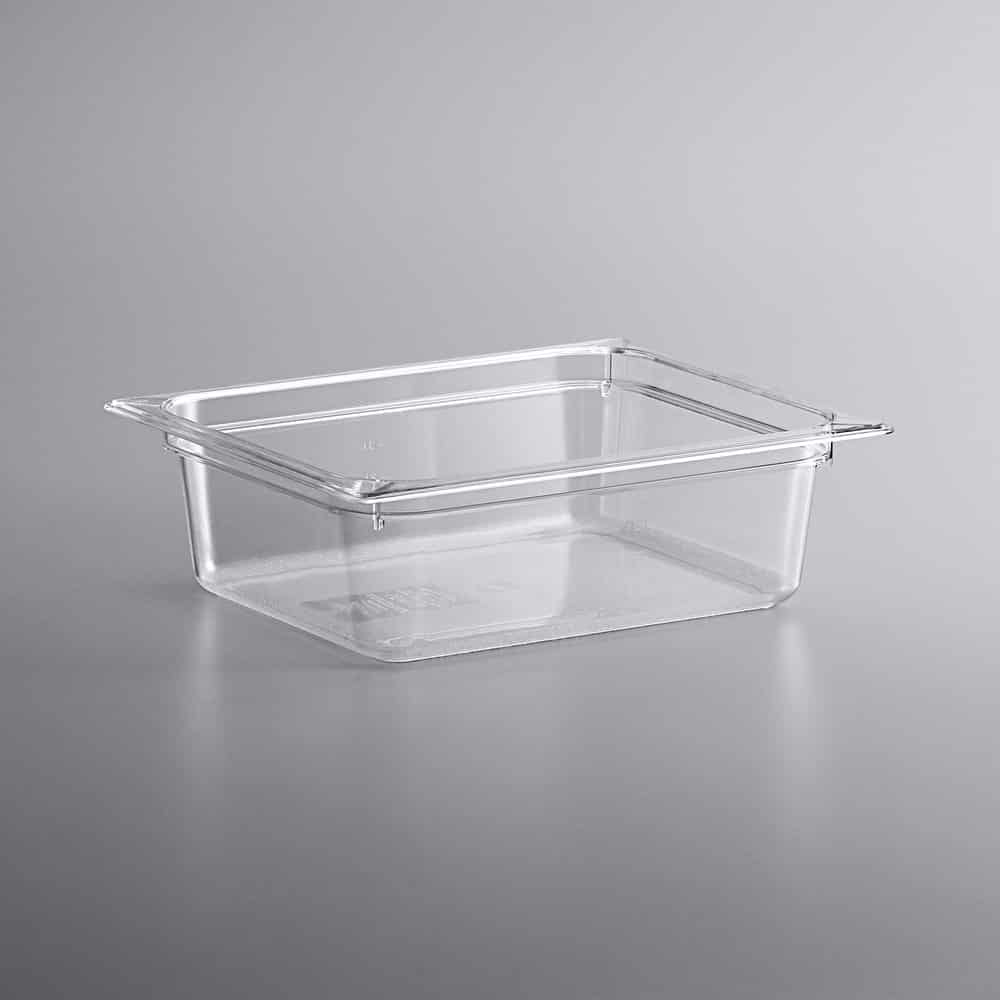 KH 1/2 Size Clear Food Pan Polycarbonate PC