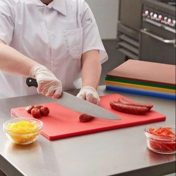 PE Cutting Board Red 2