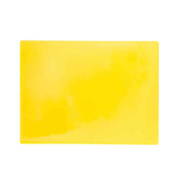 P.E Cutting Board Yellow