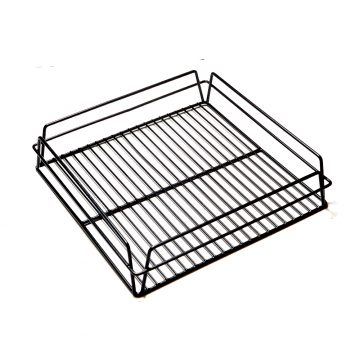 KH Glass Baskets Rack Black 350 X 350 X 75 (14 X 14)