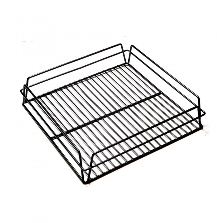 KH Glass Baskets Rack Black 350 X 350 X 75 (14 X 14)