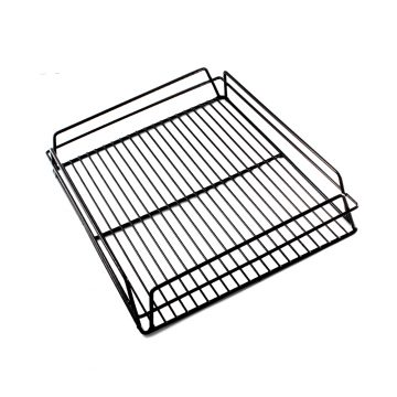 KH Glass Baskets Rack Black 425 X 350 X 75 (17 X 14)
